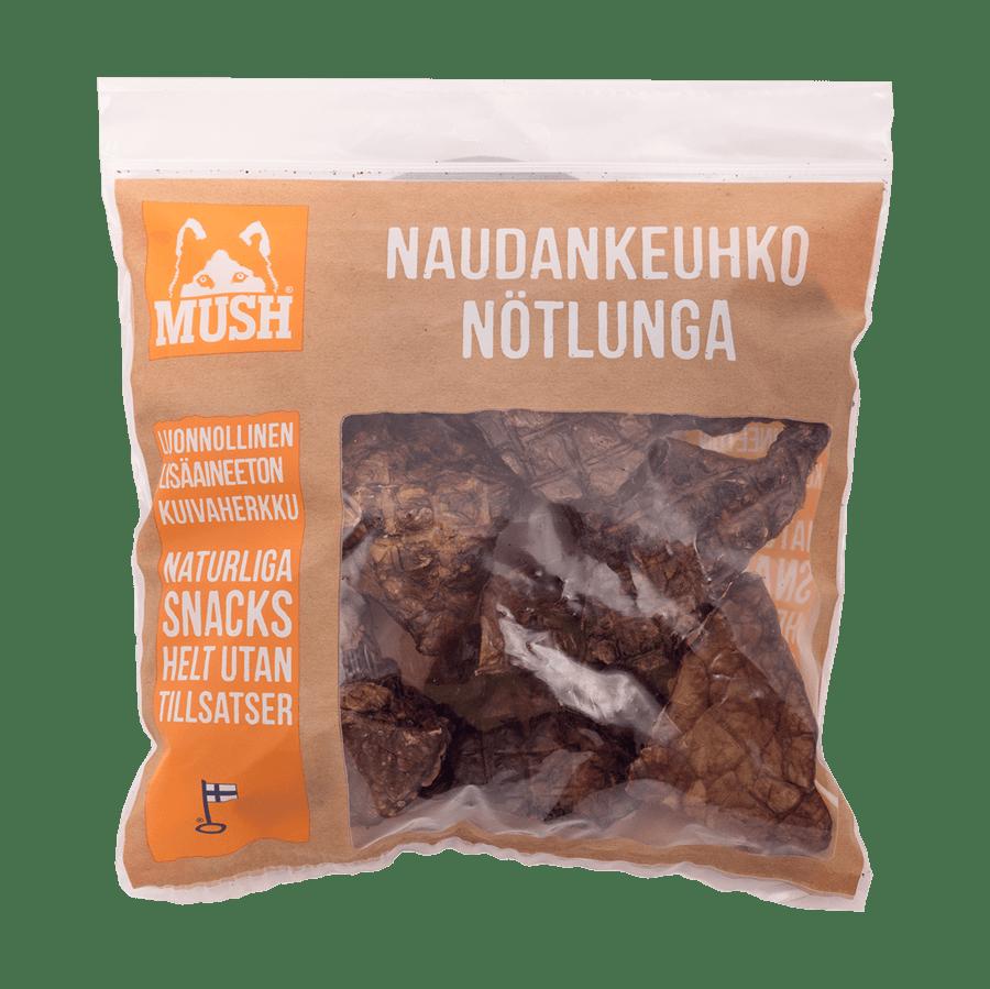 OKSELUNGE // Tørret tyggesnack (140 g)