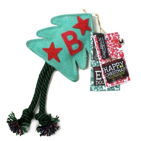 juletræ, bide- tygge/kaste legetøj til hunde