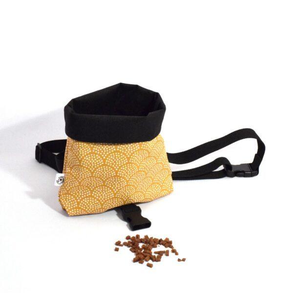 Taske til godbidder i gul