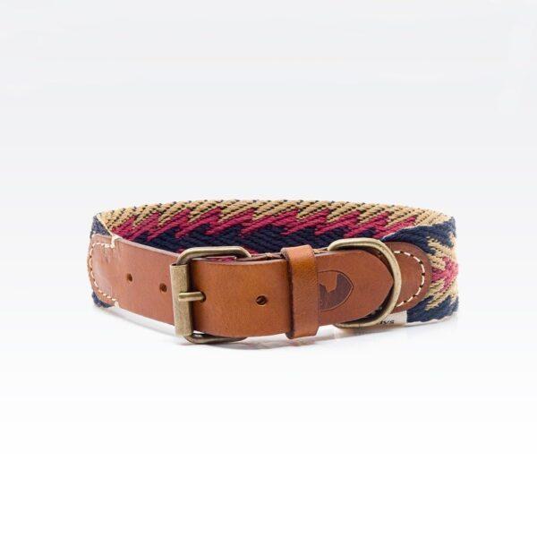 Halsbånd til hund i friske farver